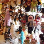 "The ever popular ""puppet tree"" at Village Toy Shoppe in New Hope"