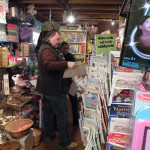 Owner Greg Gauthier assists a customer at Village Toy Shoppe in New Hope