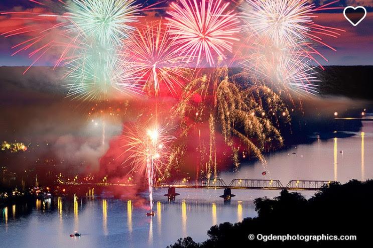 New Hope Lambertville Fireworks