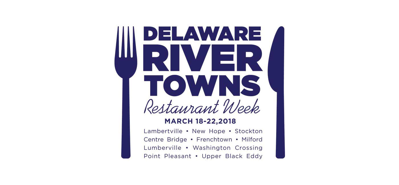Delaware River Towns Restaurant Week 2018